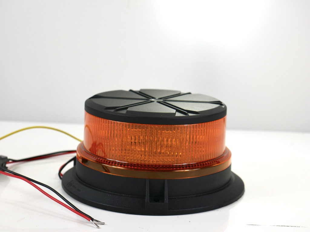 LED Beacon Amber Bolt On- Flashing Rotating (OUT OF STOCK)