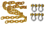 [10060] Safety Tow Chain Herc Alloy, 8T Rated