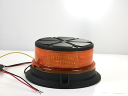 [10066] LED Beacon Amber Bolt On- Flashing Rotating (OUT OF STOCK)